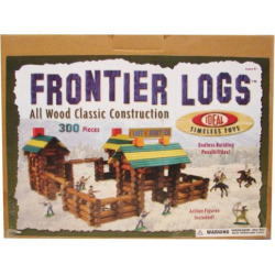 Ideal Frontier Logs 300-pc. Building Set, Multicolor