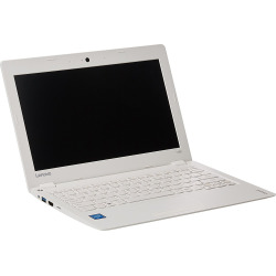Lenovo Ideapad 110S 11.6 inch Laptop 2GB Memory/32GB eMMC Flash Memory – White (Refurbished)