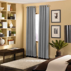 Window Curtainworks 1-Panel Cameron Window Curtain, Grey