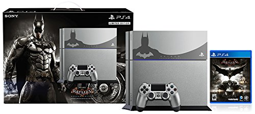PlayStation 4 500GB Console – Batman Arkham Knight Bundle Limited Edition[Discontinued]