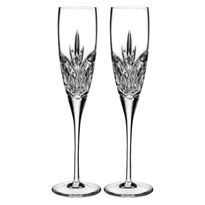 Waterford Forever Set of 2 Champagne Flutes