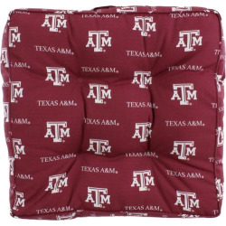 Texas A&M Aggies Floor Pillow or Pet Bed, Multicolor