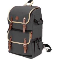GOgroove DSLR Camera Backpack (Gray) GGBCCBK100GREW