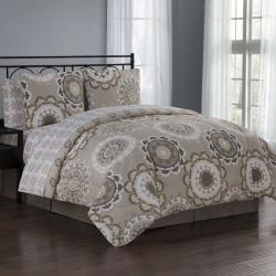 Avondale Manor Elsa 8-piece Bedding Set, Brown