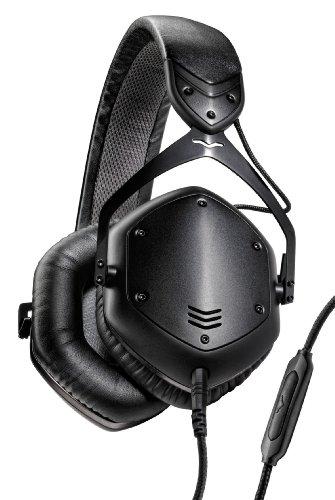 V-MODA Crossfade LP2 Vocal Limited Edition Over-Ear Noise-Isolating Metal Headphone – Matte Black