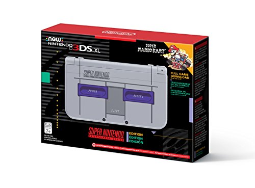 Nintendo New 3DS XL – Super NES Edition + Super Mario Kart for SNES