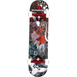 Punisher Skateboards Rose 31-in. Abec-7 Complete Skateboard, Red