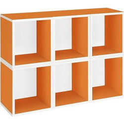 way basics 6 stackable storage cubes plus orange made from zboard - Allshopathome-Best Price Comparison Website,Compare Prices & Save