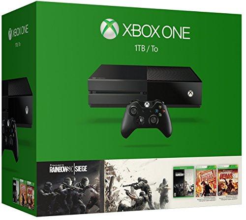 Xbox One 1TB Console – Tom Clancy's Rainbow Six Siege Bundle