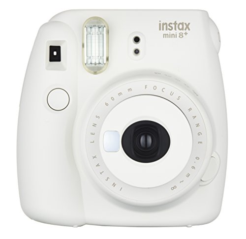 Fujifilm Instax Mini 8+ (Vanilla) Instant Film Camera + Self Shot Mirror for Selfie Use – International Version