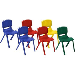 ecr4kids resin chair 16 assorted pack blue - Allshopathome-Best Price Comparison Website,Compare Prices & Save