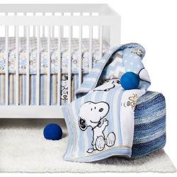 peanuts 4 piece crib bedding set my little snoopy - Allshopathome-Best Price Comparison Website,Compare Prices & Save