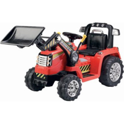 Blazin Wheels 12V Battery Operated Push Dozer Ride-on Vehicle, Multicolor