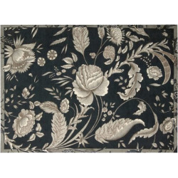 Waverly Artisanal Delight Floral Rug, Black
