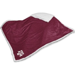 Texas A and M Aggies Sherpa Blanket, Multicolor