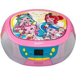 Shopkins Shoppies CD Boombox by eKids, Multicolor