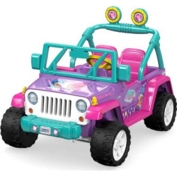 Nickelodeon Shimmer and Shine Ride-On Vehicle by Fisher-Price Power Wheels, Multicolor