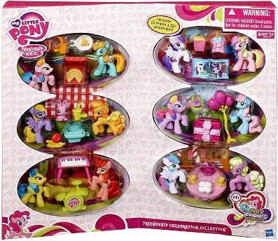 Hasbro My Little Pony Friendship Is Magic Friendship Celebration Collection Set