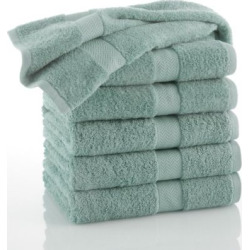 Martex Commercial 6-pk. Solid Bath Towels, Lt Green