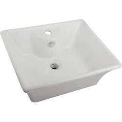 Single-Hole Vitreous China Vessel Bathroom Sink – Kingston Brass