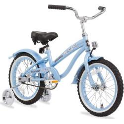 Firmstrong Girls 16-in. Bella Single-Speed Bike with Training Wheels, Blue