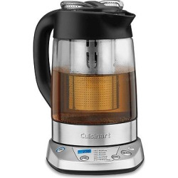 Cuisinart Tea Infuser Electric Kettle – Stainless Steel Tea-100, Grey/Black