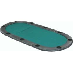 Fat Cat Tri-Fold Poker Table Top, Multicolor