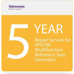 Tektronix 5-Year Repair Service for SPG700 Multi-Function Refe SPG700 R5