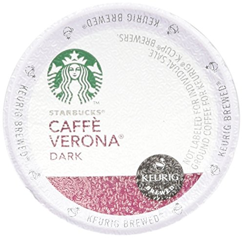 Starbucks Caffè Verona, Dark Roast, 108-Count K-Cups for Keurig Brewers