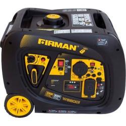 3000/3300W Portable Gas Inverter w/Electric Start & Remote Start-Non-Carb Compliant – Black – Firman Power