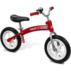 Radio Flyer Glide & Go Balance Bike with Air Tires, Multicolor