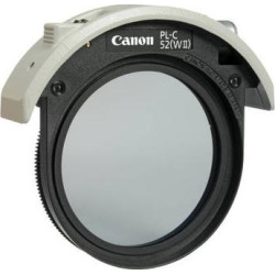 Canon PL-C 52WII 52mm Drop-In Circular Polarizing Filter 4774B001