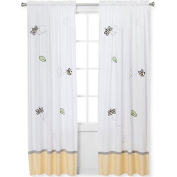 Sweet Jojo Designs Honey Bee Window Panels – Yellow