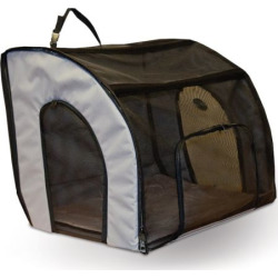 K and H Pet 25.5-in. Travel Safety Carrier, Black