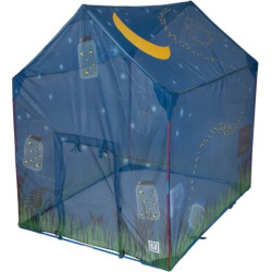 Pacific Play Tents Glow In The Dark Firefly House Tent, Multicolor