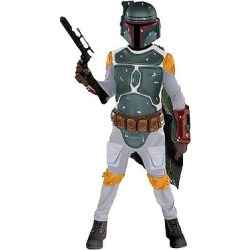 Star Wars Kids' Boba Fett Costume M(8-10), Boy's, Multicolored