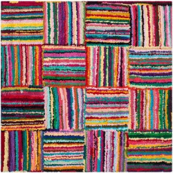 Leeds Area Rug (8′ X 8′) – Safavieh, Multicolored
