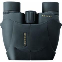 Leupold Rogue Compact Porro Prism Binocular, 10x25mm, Black