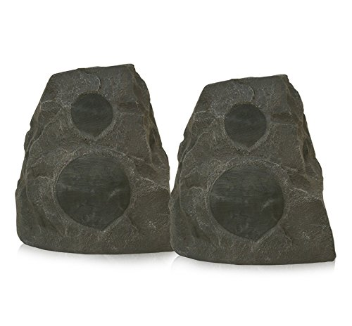 Klipsch AWR-650-SM All Weather 2-way Rock Speakers – Pair (Granite)