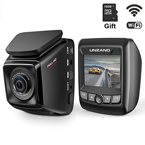 dash cam fhd 1080p built in wifi with app dashboard camera recorder 170wide - Allshopathome-Best Price Comparison Website,Compare Prices & Save