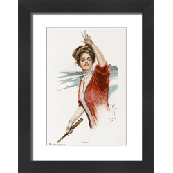 Framed Print of GOLF /AMERICAN GIRL