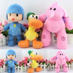 3 Pcs Set Soft Plush Stuffed Figure Toy 22-30cm or 8.7″-12″ Doll