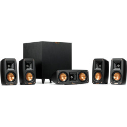 klipsch black reference theater pack 51 surround sound system  - Allshopathome-Best Price Comparison Website,Compare Prices & Save
