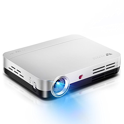 WOWOTO H9 Video Projector, 3500 lumens 3D DLP Projector 1280×800 Support 1080P Full HD , Android 4.4 OS , with Keystone, HDMI, WIFI & Bluetooth