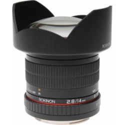 Rokinon FE14M-MFT 14mm F2.8 Ultra Wide Lens for Micro Four-Thirds Mount and Fixed Lens for Olympus/Panasonic Micro 4/3 C