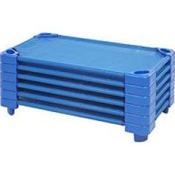 ecr4kids assembled stackable standard cots blue - Allshopathome-Best Price Comparison Website,Compare Prices & Save