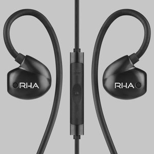 RHA T20i in-Ear Monitors (Gen. 2): HiFi Noise Isolating Stainless Steel in-Ear Headphones with Remote & Mic