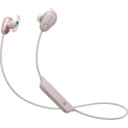 Sony Pink In-Ear Wireless Noise Canceling Headphones – WISP600N/P