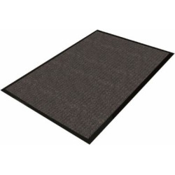 Guardian Golden Series Dual-Rib Indoor Wiper Floor Mat, 4'x8′, Charcoal