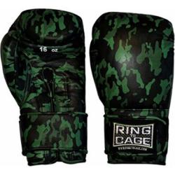 CUSTOM Japanese-Style Training Boxing Gloves – Camo (Lace-up 16oz)